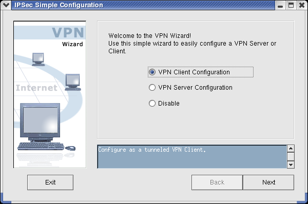 Easy-to-use VPN